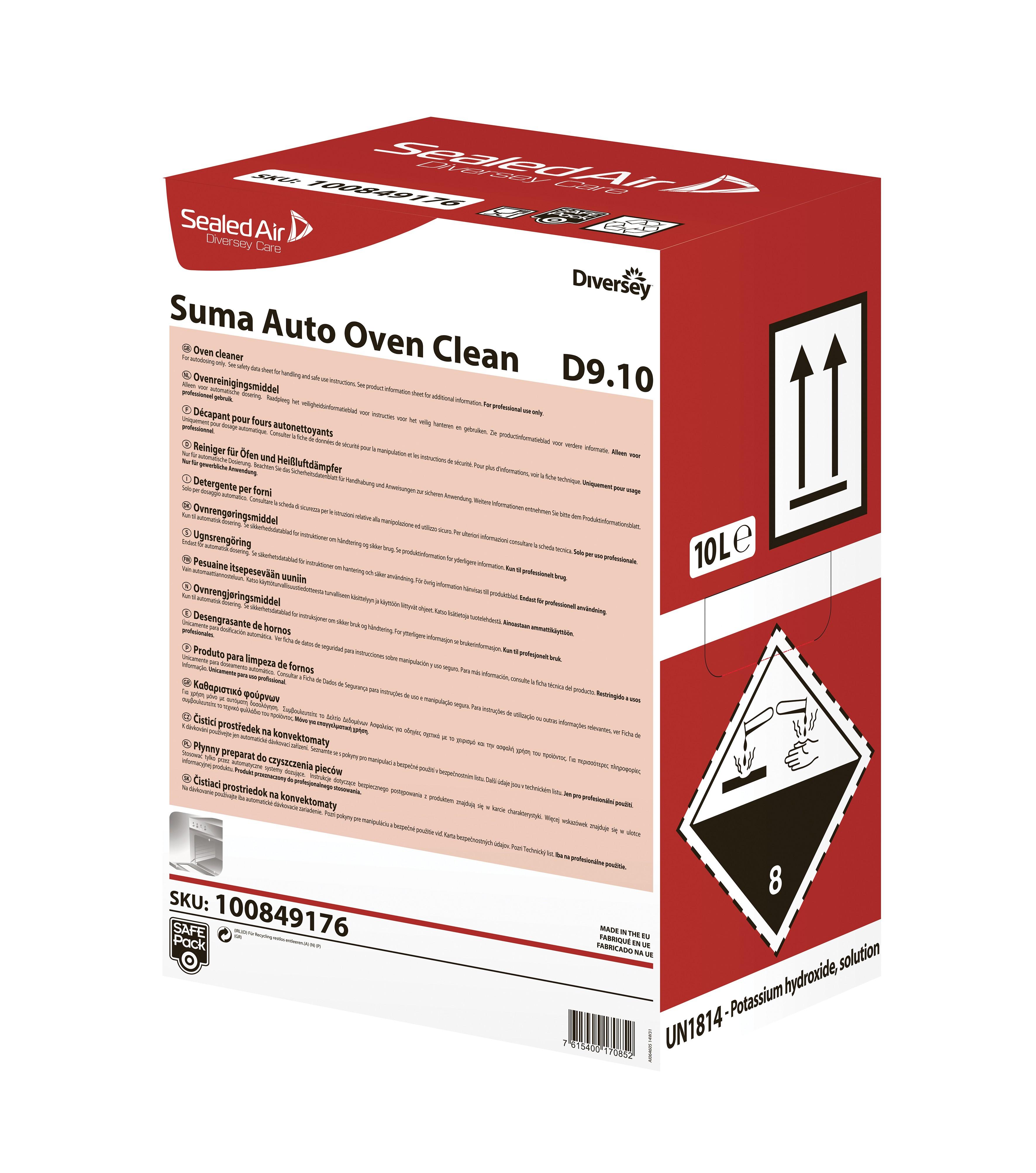 Suma Auto Oven Clean D9.10 10L