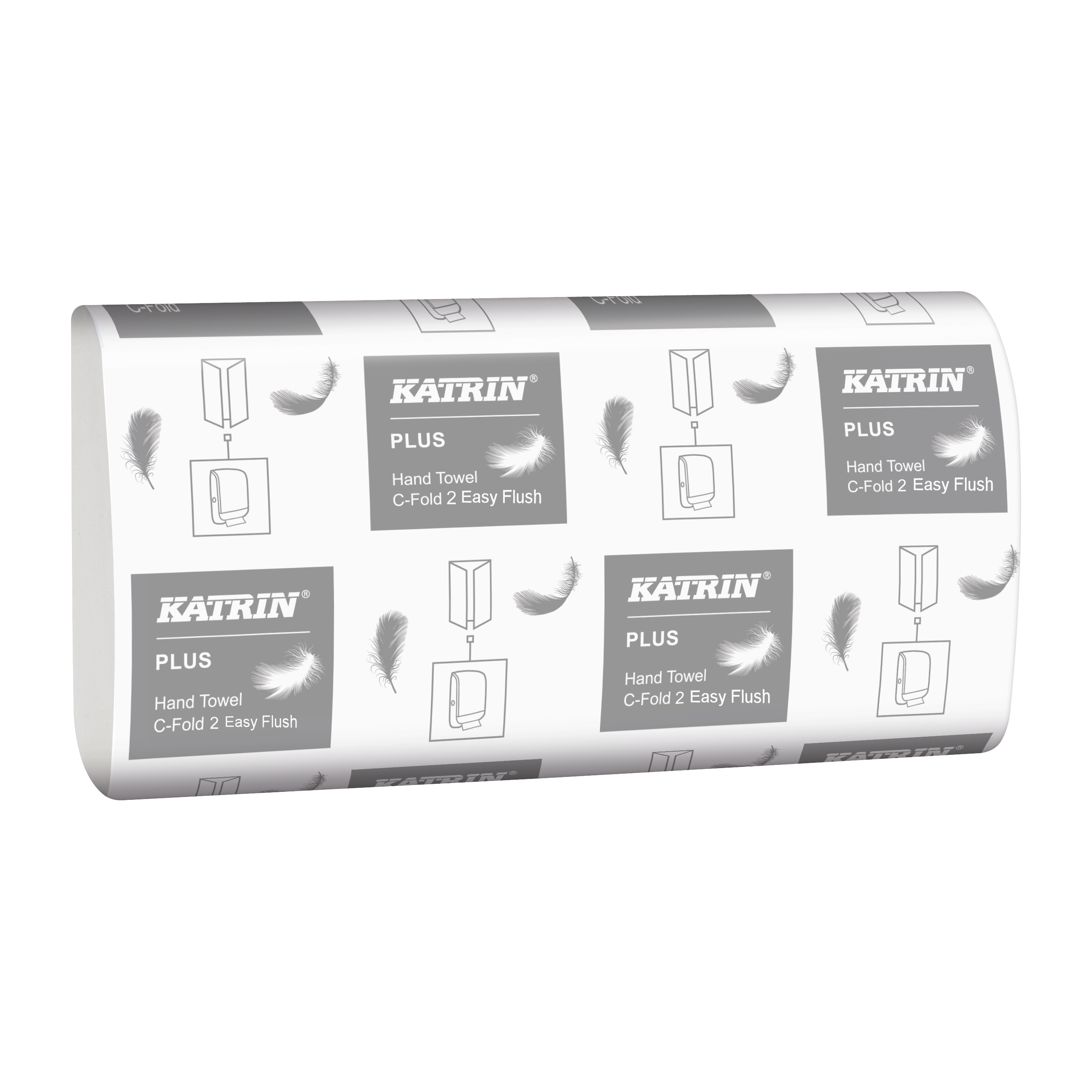 Katrin Plus C-Fold 2 EasyFlush