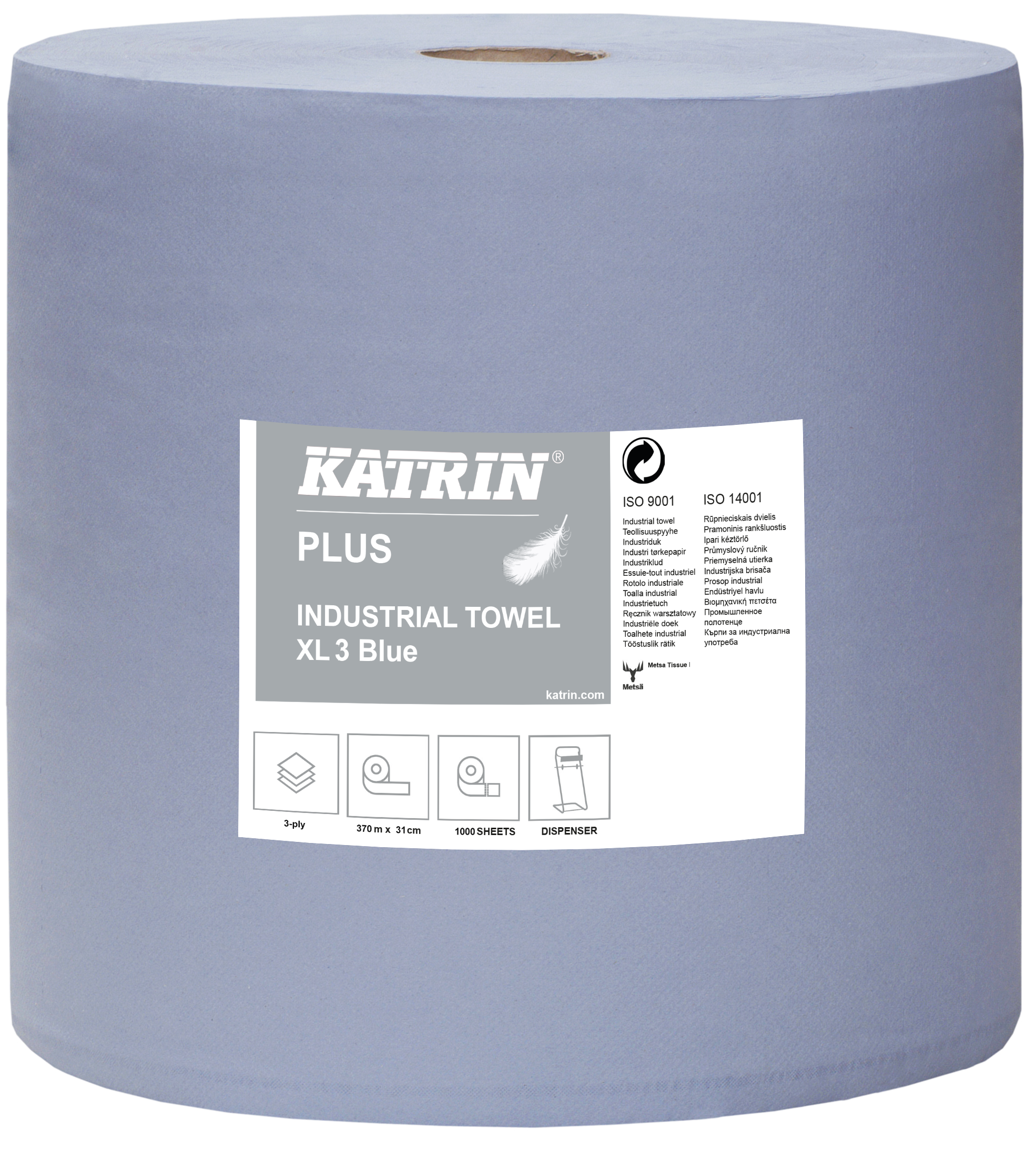 Katrin Plus Industrial Towel XL3 Blue