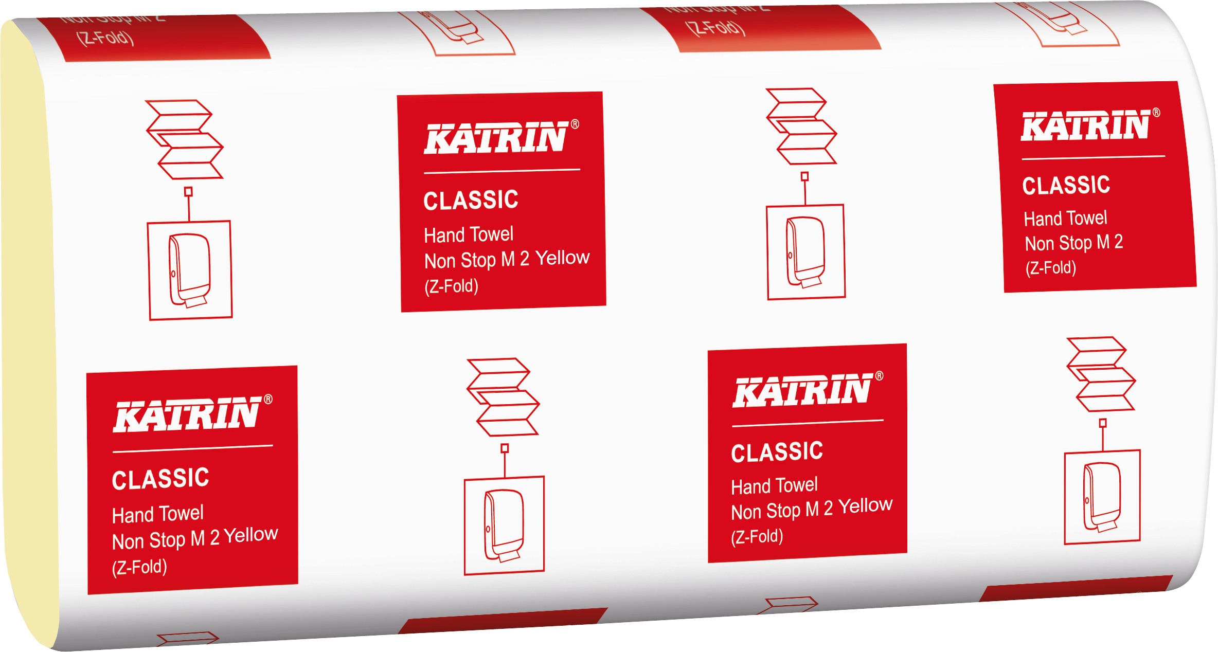 Katrin Classic Hand Towel Non Stop M2 yellow