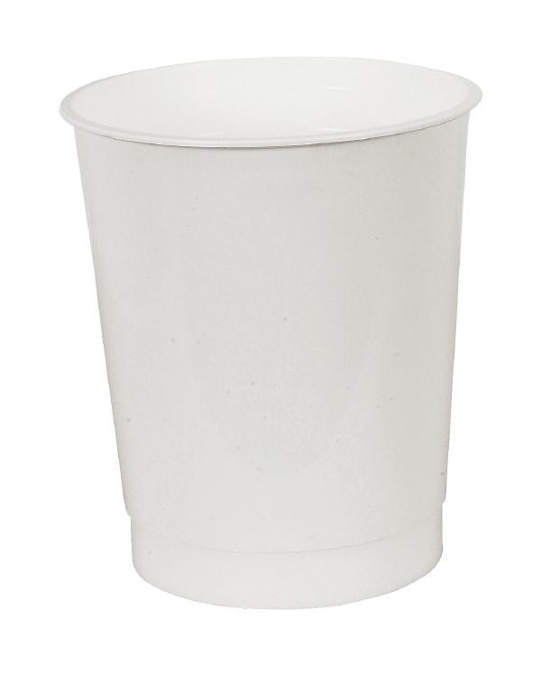 Muovimuki valkoinen 225ml