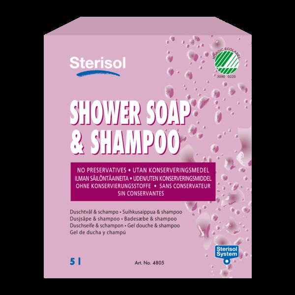 Sterisol Suihkusaippua & Shampoo