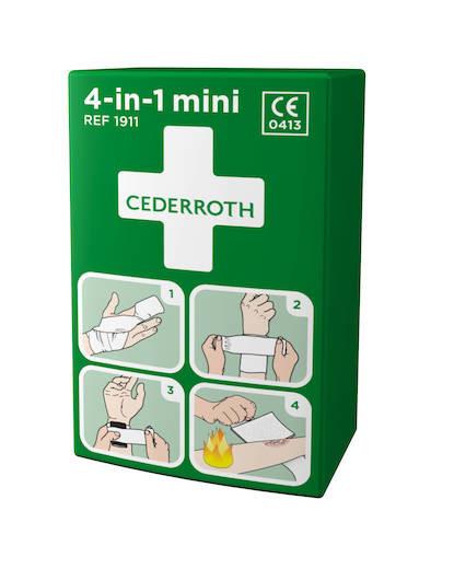 CEDERROTH ensiapuside 4-in-1 pieni