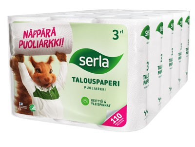 Serla talouspaperi (puoliarkki)